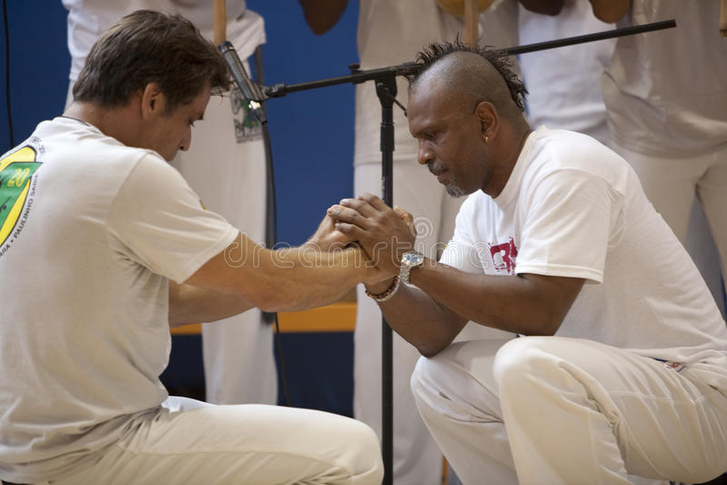 Festival de Capoeira image stock