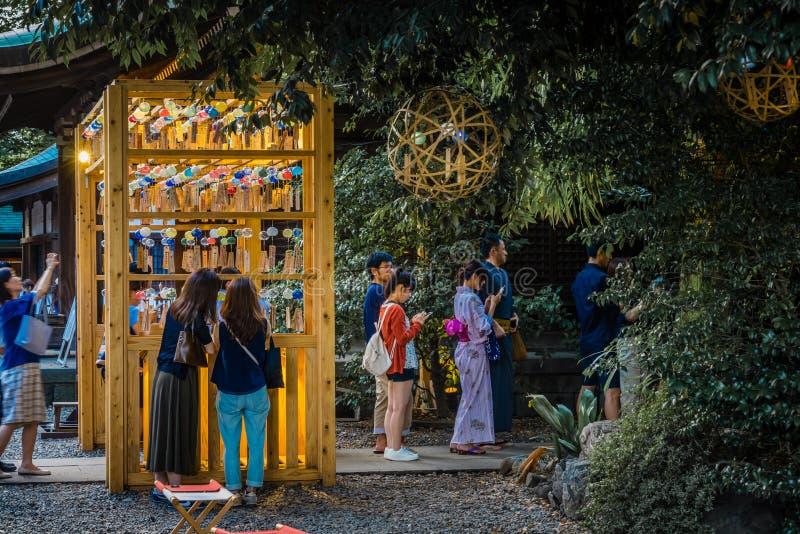 Festival de carillon de vent photographie stock