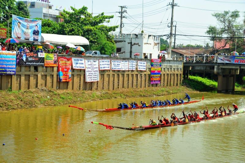 Festival de carreras de botes de agua fotos de archivo