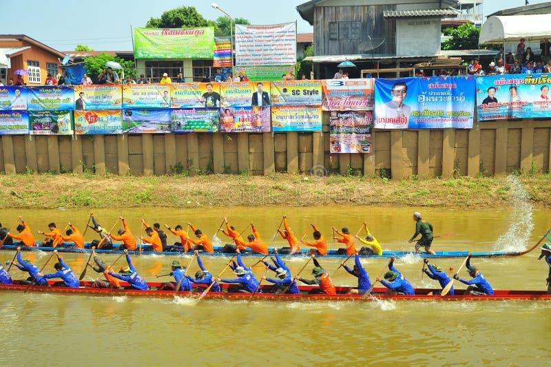 Festival de carreras de botes de agua foto de archivo libre de regalías