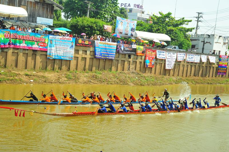 Festival de carreras de botes de agua imagen de archivo libre de regalías