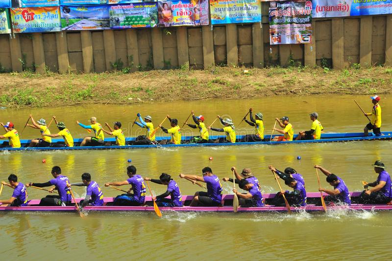 Festival de carreras de botes de agua fotografía de archivo libre de regalías