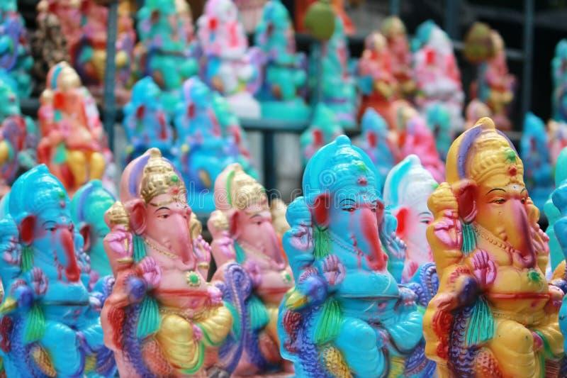Festival de chaturthi de Ganesh à Hyderabad, Inde images libres de droits