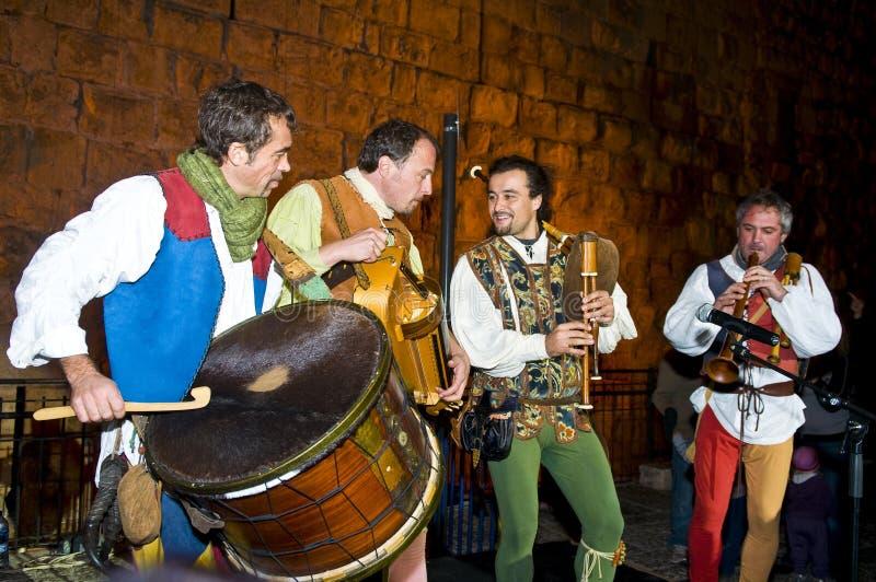 Festival de chevalier de Jérusalem photos stock