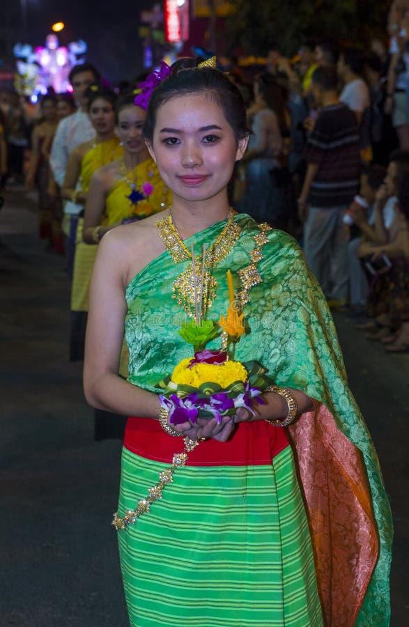 Festival de Chiang Mai Yee Peng images stock