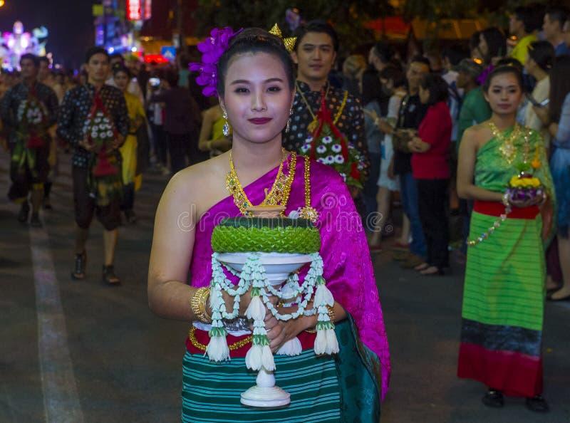 Festival de Chiang Mai Yee Peng photographie stock libre de droits
