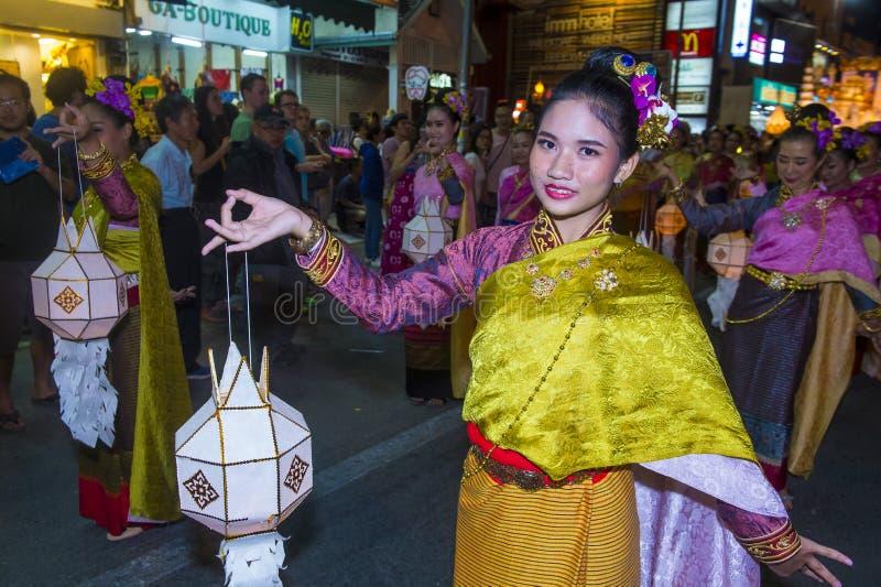 Festival de Chiang Mai Yee Peng foto de archivo libre de regalías