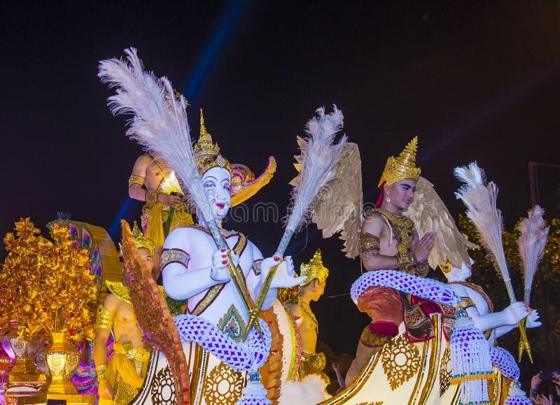Festival de Chiang Mai Yee Peng photographie stock