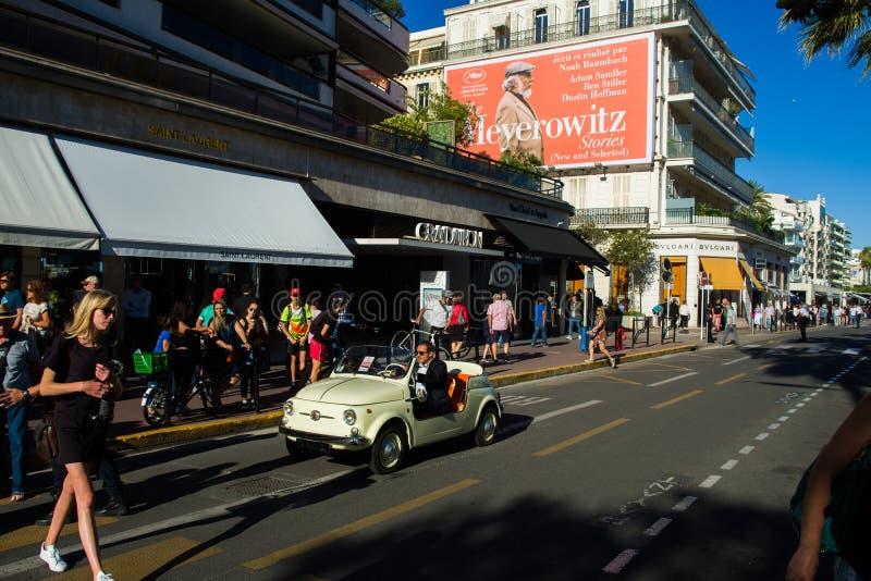 Festival de cine 2017 de Cannes imagen de archivo libre de regalías