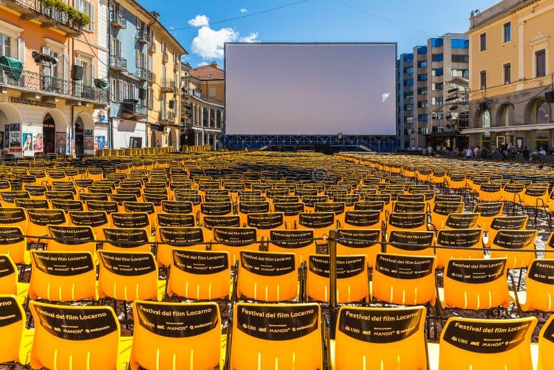Festival de cine del International de Locarno foto de archivo libre de regalías