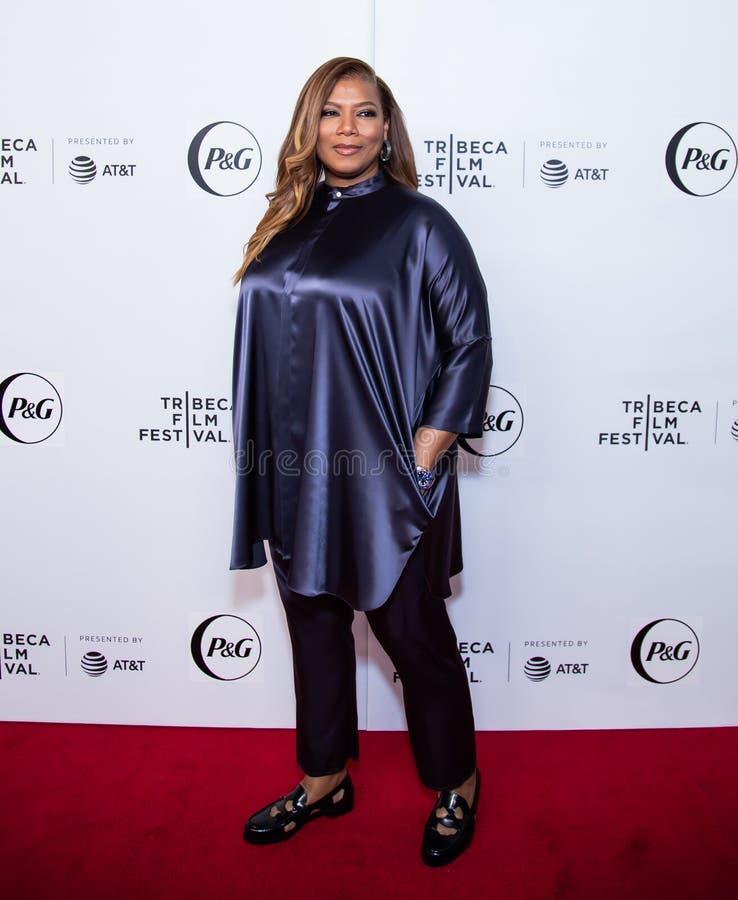 Festival de cine de Tribeca - alfombra roja antes de la premier de la colectividad de la reina foto de archivo