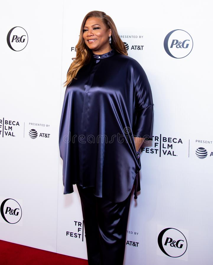 Festival de cine de Tribeca - alfombra roja antes de la premier de la colectividad de la reina fotos de archivo libres de regalías