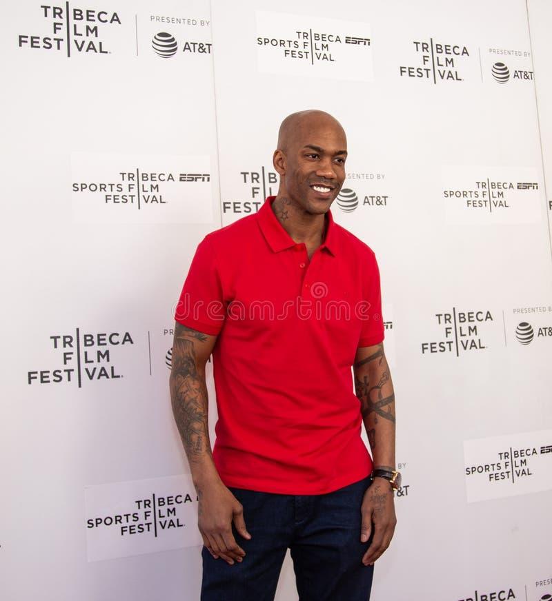 Festival de cine de Tribeca - alfombra roja antes de la premier del ?ni?o documental de Coney Island ? foto de archivo libre de regalías