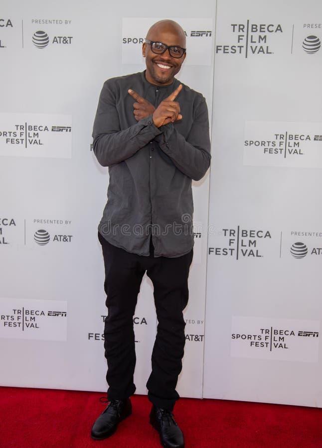 Festival de cine de Tribeca - alfombra roja antes de la premier del ?ni?o documental de Coney Island ? imágenes de archivo libres de regalías