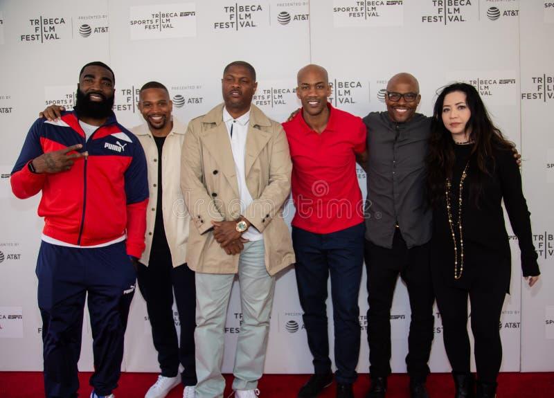 Festival de cine de Tribeca - alfombra roja antes de la premier del ?ni?o documental de Coney Island ? foto de archivo