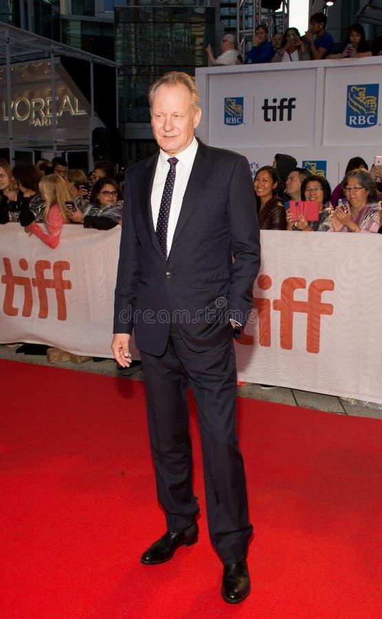 2017 festival de cinema internacional de Toronto - premier do ` do ` Borg/McEnroe - tapete vermelho imagens de stock
