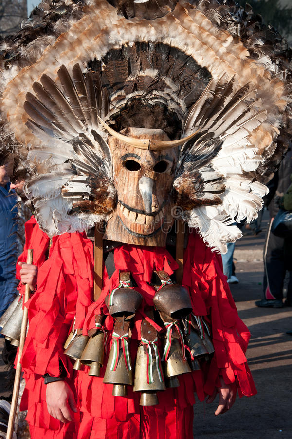 Festival de costumes de mascarade images libres de droits