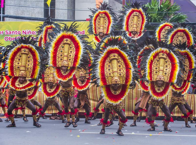 Festival 2018 de Dinagyang photos stock