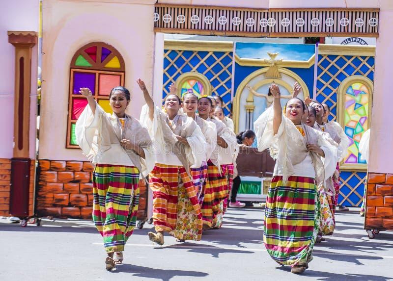 Festival 2018 de Dinagyang fotografia de stock royalty free