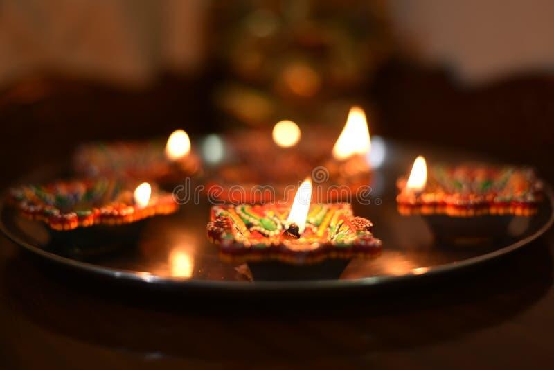 Festival de Diwali imagen de archivo