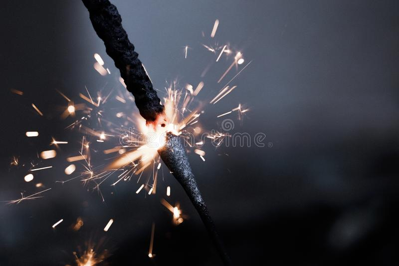 Festival de Diwali do biscoito do fogo foto de stock royalty free