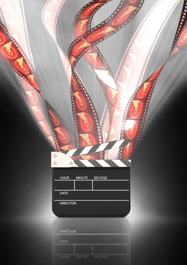 Festival de film illustration stock