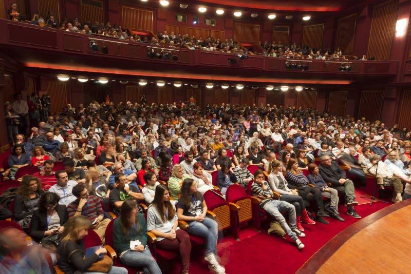 Festival de film international de Salonique images stock