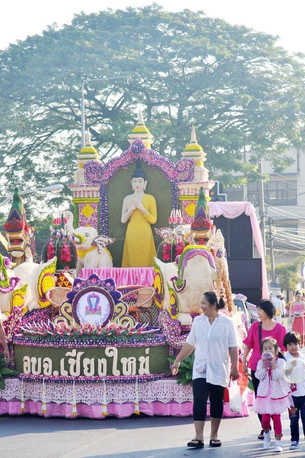 Festival de fleur de Chiangmai photos stock