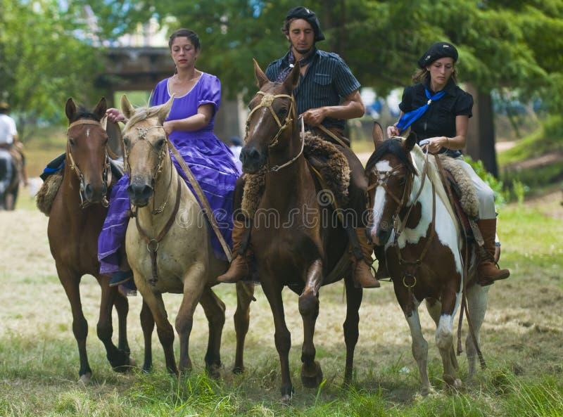 Festival de gaucho photos libres de droits