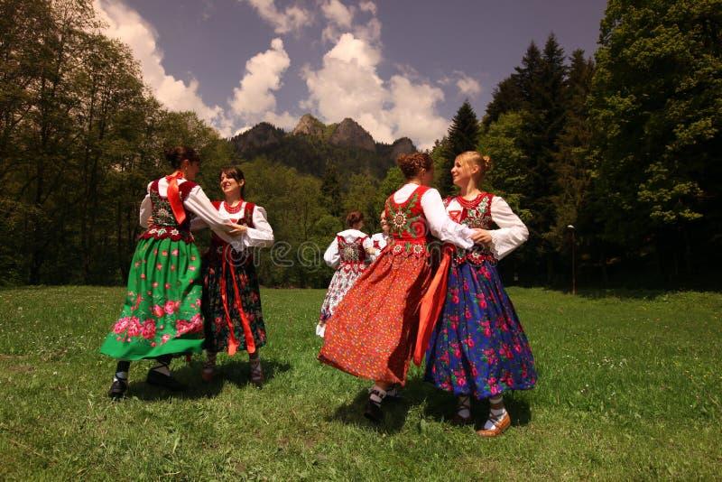 FESTIVAL DE GENS DE L'EUROPE SLOVAQUIE CERVENY KLASTOR photo libre de droits