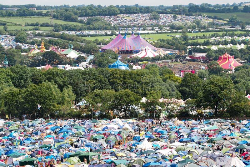 Festival de Glastonbury des arts photographie stock