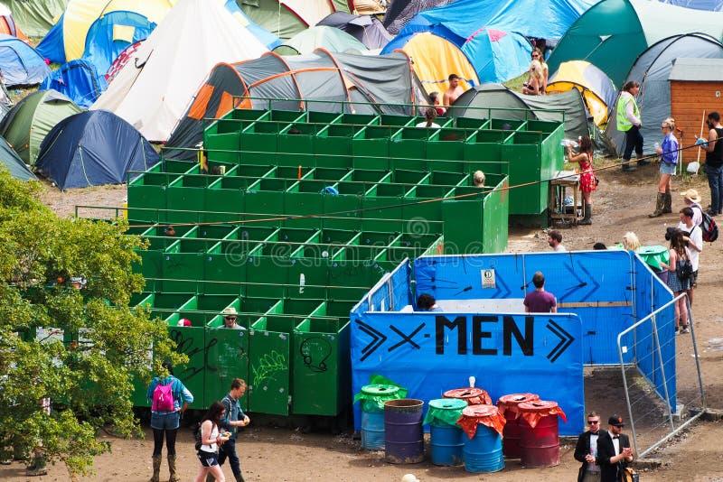 Festival de Glastonbury des arts images libres de droits