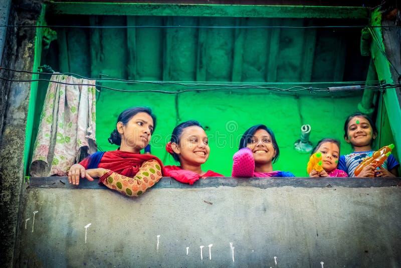 Festival de Hali das cores foto de stock