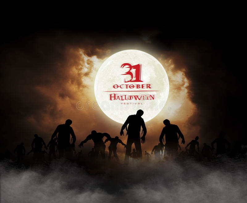 Festival de Halloween illustration stock