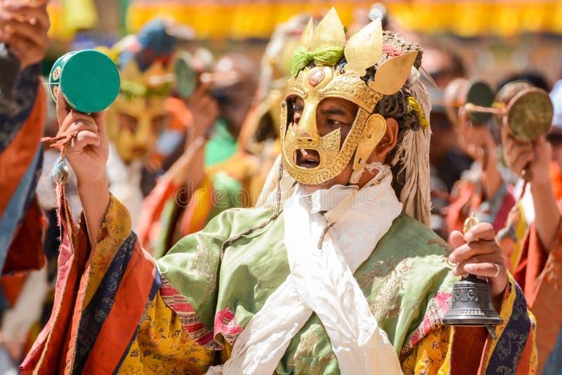 Festival de Hemis em Leh, Ladakh, Índia fotos de stock