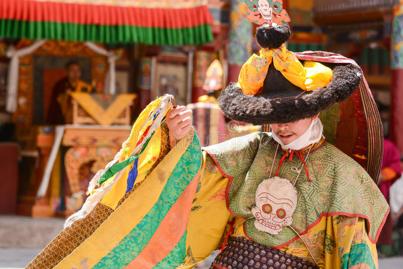 Festival de Hemis en Leh, Ladakh, la India imagen de archivo libre de regalías