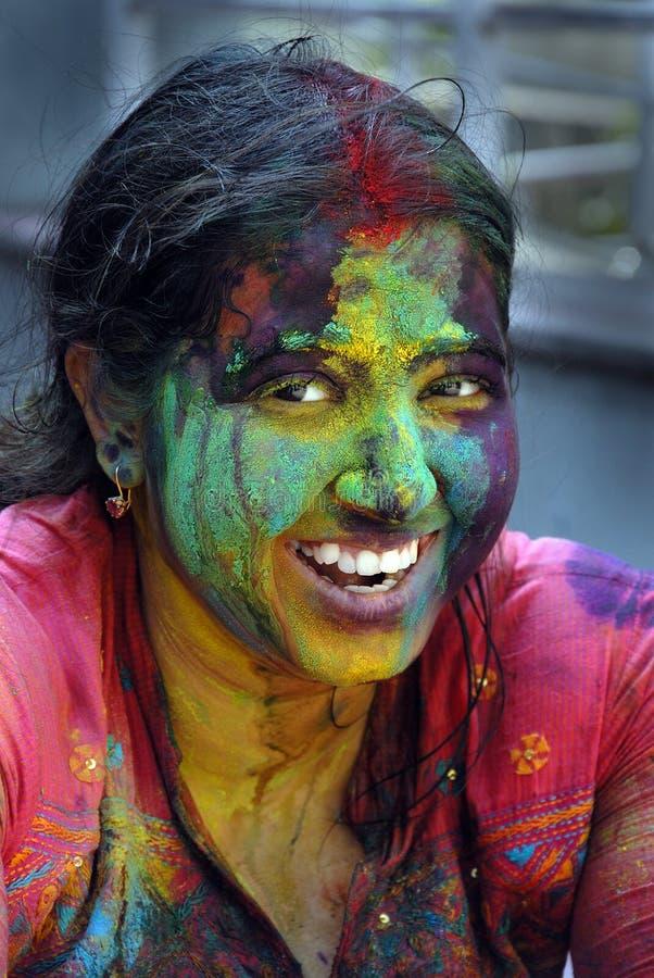 Festival de Holi photo stock