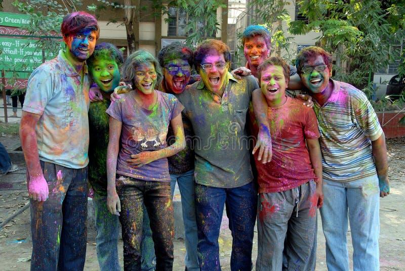 Festival de Holi photographie stock libre de droits