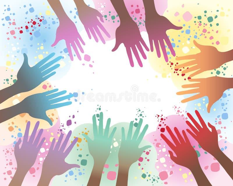 Download Festival de Holi illustration de vecteur. Image du coloré - 23658831