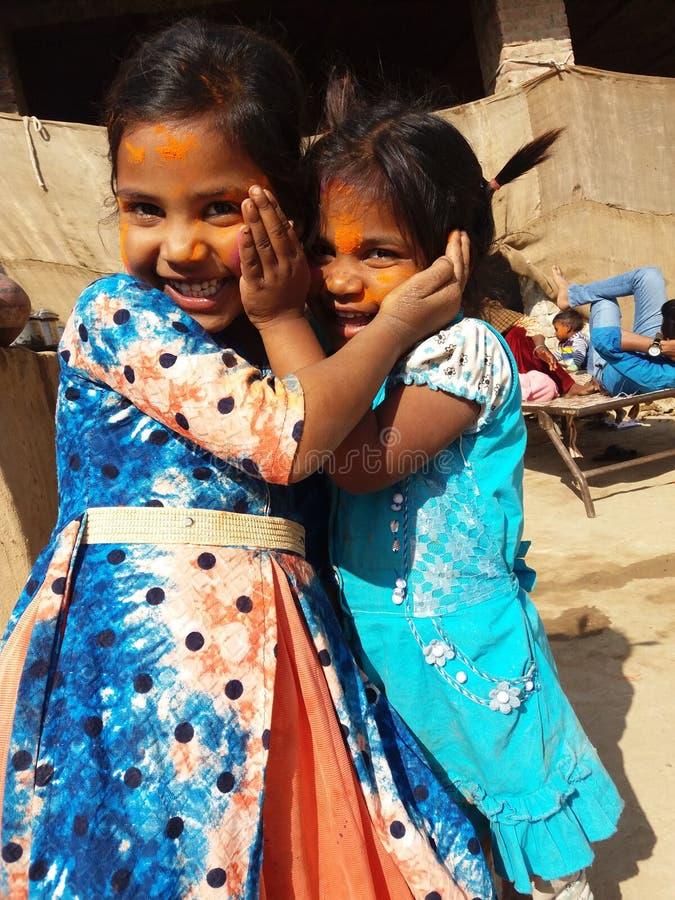 Festival de Holi do indiano foto de stock