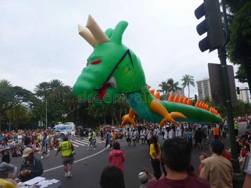 Festival de Honolulu na ilha Havaí EUA de Oahu imagem de stock royalty free