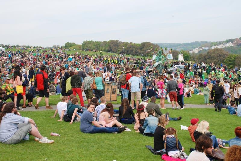 Festival de Jack In The Green, 2014 foto de archivo