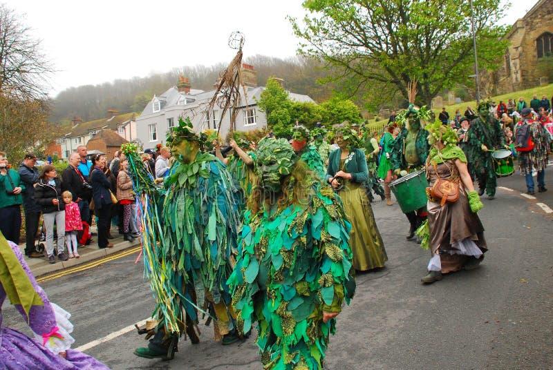 Festival de Jack In The Green, 2016 foto de archivo