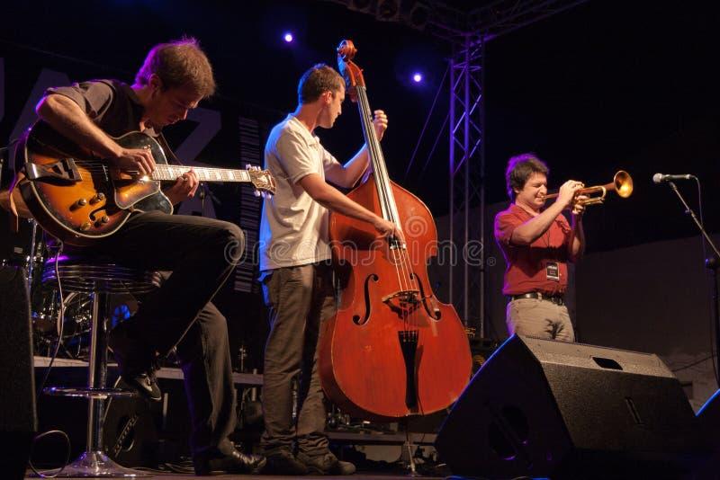 Festival de jazz de Kriol el 14 de abril de 2011 fotografía de archivo