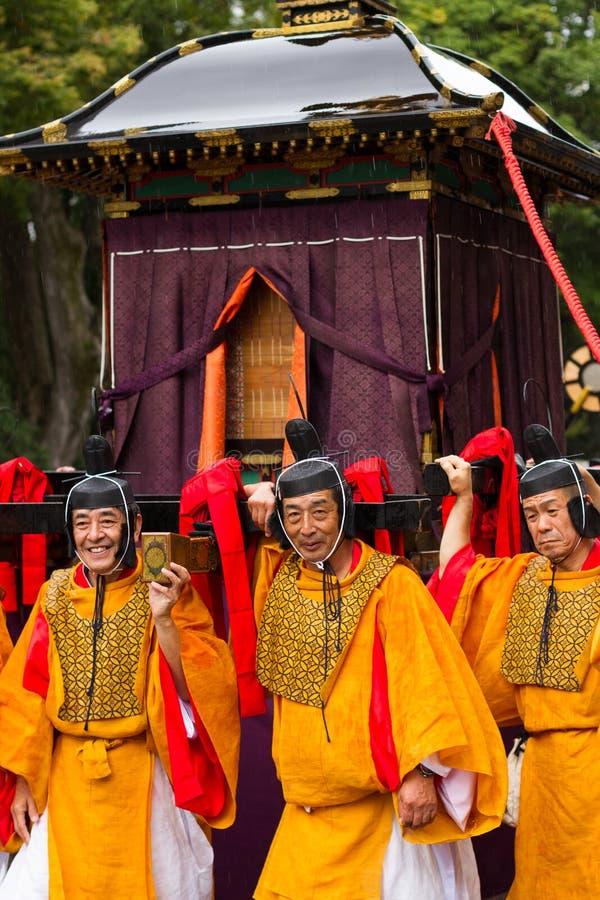 Festival de Jidai Matsuri photographie stock