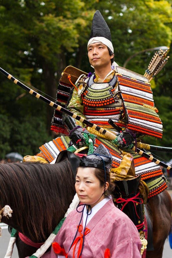 Festival de Jidai Matsuri em Kyoto, Japão imagens de stock