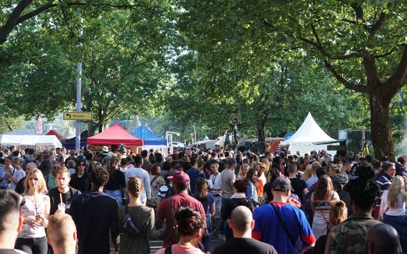 Festival 2018 de Kulturen do der de Karneval em Berlim, Alemanha imagens de stock