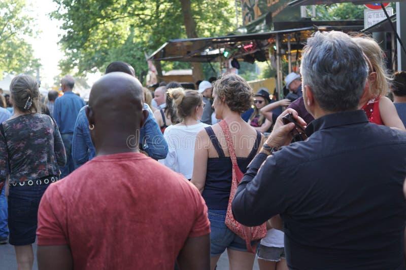 Festival 2018 de Kulturen do der de Karneval em Berlim, Alemanha imagem de stock