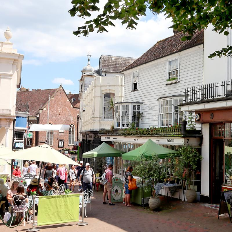 Festival de la ginebra de Tunbridge Wells imagen de archivo libre de regalías
