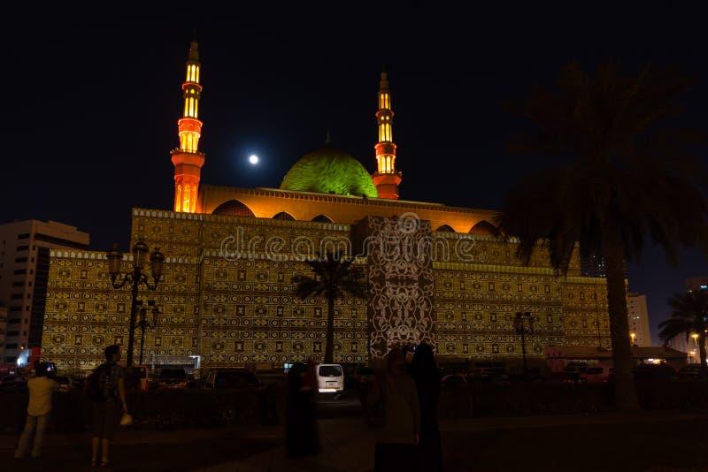 Festival de la mezquita de Sharja foto de archivo